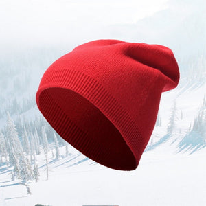 c723250ebff32 Winter Hats for Women Men Knitted Beanie Hat Cap for Girls Wo Brand Hat  Female and