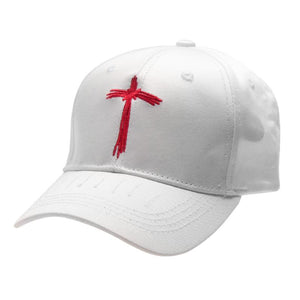 Simple Embroidery Adjustable Baseball Cap Snapback Hat Unisex Hip Hop Punk Style Fashion Sunscreen Baseball Hat White Color