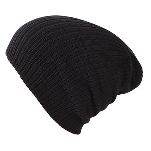 Soft Knitted Hat Female Men Cap Women's Cotton Beanies For Girl Winter 2020 New Plain Hats Female Solid Bonnet Autumn Skullies