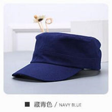 Load image into Gallery viewer, Solid Color Adult Men&Women Summer Spring Cotton Baseball Cap Snapback Blank  Flat-top Cap,Boy&Girl Teenager Hip Hop Sun Hat
