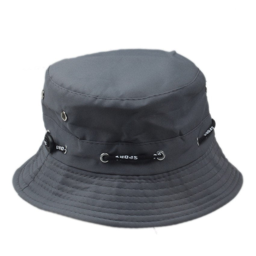 d7c5a5aae83 Solid Color Bucket Hats for Men Panama Women Fishing Sun hat ...