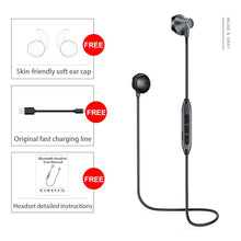 Load image into Gallery viewer, H2 Bluetooth Headphones Waterproof Wireless Earphones Sports Bass Bluetooth Earphone With Mic For iPhone xiaomi