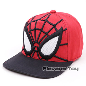 09daa6f1229 Spiderman Cot Baseball Caps Summer Cartoon Snapback Hat Adjustable Men Boy  Cap Hip-Hop Hat