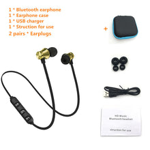 Load image into Gallery viewer, Sports Bluetooth Earphone Fone de ouvido Wireless Bluetooth Headphones For  iPhone Stereo Headset Ecouteur Auriculares