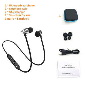 Sports Bluetooth Earphone Fone de ouvido Wireless Bluetooth Headphones For  iPhone Stereo Headset Ecouteur Auriculares