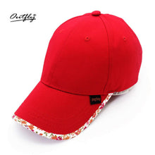 Load image into Gallery viewer, Spring sun shade pure cotton parent baseball hat sunscreen leisure sports girl boy outdoor hat gorras mujer plisada visera