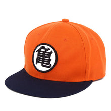 Load image into Gallery viewer, Summer 2017 New arrival Adjustable Dragon Ball Z Goku Baseball Cap Japan Anime Hat Flat Costume Snapback