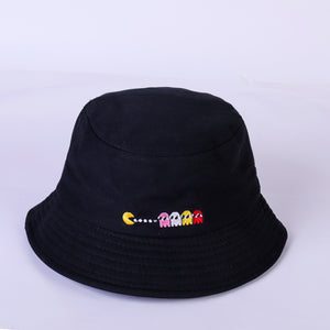 f97e5279f09 Summer Hat Women Mens Panama Bucket Hat Smile Face Design Flat Sun Visor  Fishing Fisherman Bob
