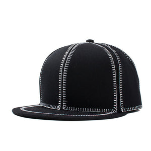 Summer Style Fashion Hiphop Snapbacks Zipper Embroidery Blank Hip Hop Cap Sun Hats Casual Baseball Caps For Men Women Black Gray