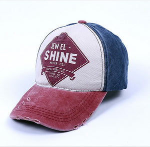 Summer baseball cap spring cap all-match shopping dome short brim flat brim hat