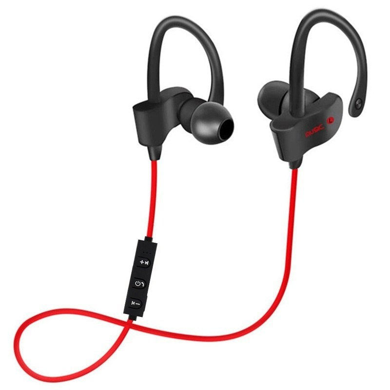 Super Bass Bluetooth Earphone Sports Wireless Headphones Sweatproof  Stereo Earbuds with Mic for Mobile Phone  Samsung