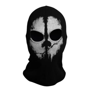 Brand Call Duty Ghosts Cotton Balaclava Mask Halloween Full Face Game Cosplay Stocking mask CS player Skullies Beanies