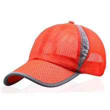 Load image into Gallery viewer, Men's Casual Caps Summer Breathable Mesh Baseball Cap Men Sun Cap UV Protection Women Camp Hats Headwear TD-BDYSM-001