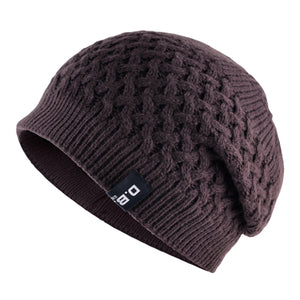 Warm Men Beanie Caps teenager Winter Hats For Man Knitted Beanies Hat Mesh Gorra Bonnet Bone Caps Man and Women TMD30