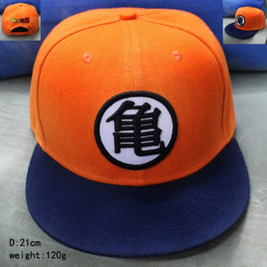 New High Quality Anime Dragon Ball Z /Dragonball Goku Snapback Hat For Men Women Adjustable Hip Hip Baseball Cap
