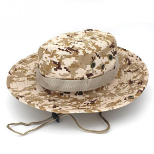 9598a844ad415 Tactical Bucket Boonie Hats Airsoft Sniper Camouflage Nepalese Cap Military  Army American Military Accessories Men
