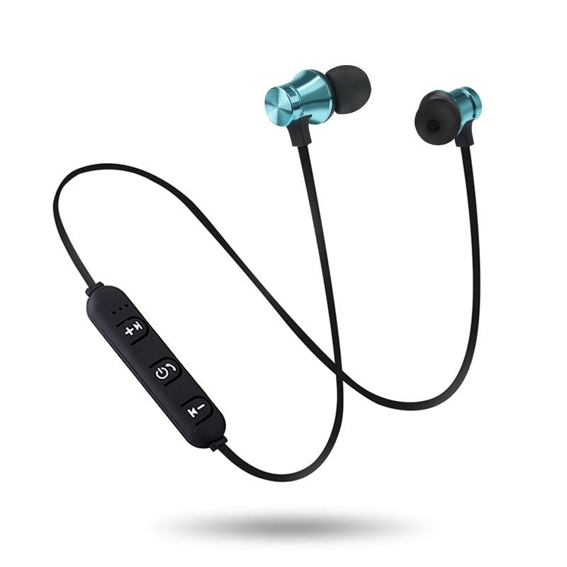 Bluetooth Earphone Magnetic Headphones C312 Wireless Sports Headset Bass Music Earpieces with Mic For Samsung  8