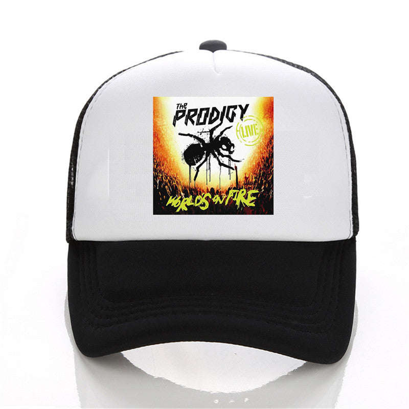 The Prodigy band printing net cap baseball cap Men and women Summer ... 7788e2fa9eb