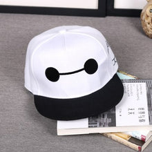 Load image into Gallery viewer, The United States super Corps Big hero 6 Baymax Adsit Film Hero Baseball Caps snapback cap Cartoon Character High quality hat