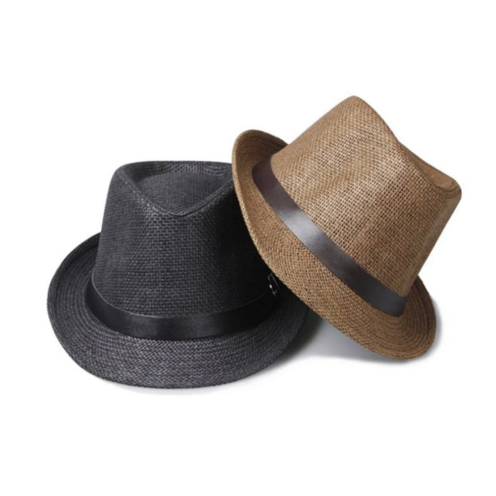 Top Quality 2018 Trendy Trendy Men s Sun Hats Summer Straw Jazz Hat Large  Size Comfortable Unisex Beach Seaside Panama Sun Caps cb8c57ba198