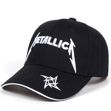 Load image into Gallery viewer, Top Selling Gothic Metal Mulisha Baseball Cap Women Hats Fashion Brand Snapback Caps Men hip hop cap Metallica baseball Caps