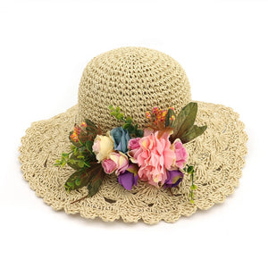 Trendy Travel Beach Hats For Women Large Brim Summer Sun Hats Vocation  Seaside Straw Hat With 194de19ba2a
