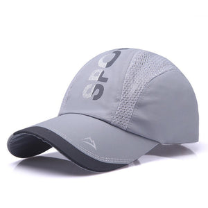 Truck Cap Lot Color Blank Baseball Cap Breathable Nylon Mesh Summer Women Snapback Hats Adjustable Outdoor Net Cap Wholesale