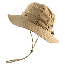 Load image into Gallery viewer, UPF 50+ Beach Cap Bucket Hat Men Women Boonie Hat Summer UV Protection Military Army Hiking Tactical Outdoor Sun Hat Fishing