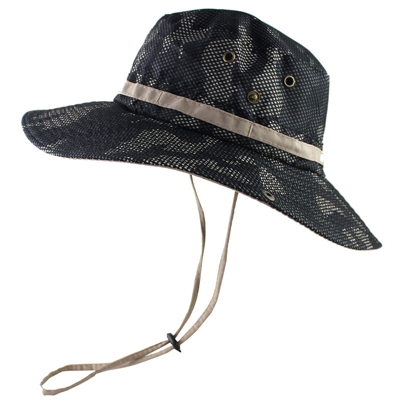 e7840a4a ... Load image into Gallery viewer, UPF 50+ Bucket Hat Men Women Outdoor  Boonie Hat