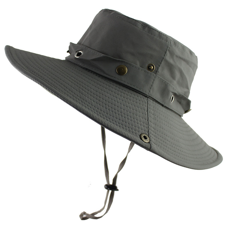 d6ecdd8c039fc UPF 50+ Bucket Hat Summer Men Women Outdoor Boonie Hats Sun UV ...