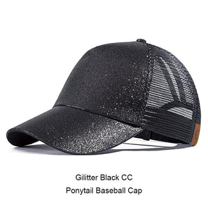 2018 Ponytail Baseball Cap Women Messy Bun Snapback Summer Mesh Hats Casual Sport Caps Drop Shipping Adjustable