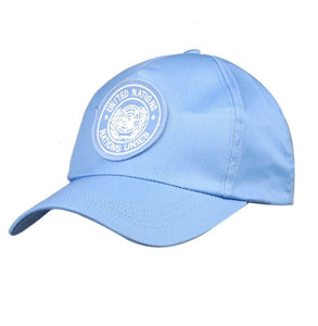 US UNITED NATIONS PEACEKEEPING FORCE BLUE BASEBALL 100% COT CAP HAT - World military Store