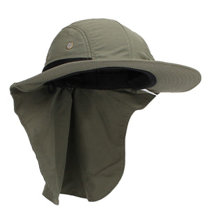 Uinsex UV Protection Face Neck Cover Bucket Hat Women Men Fishing Hiking Camping Hats Fishermen Windproof Visor Snapback Caps