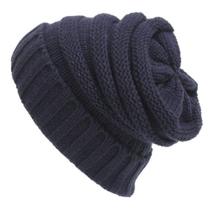 Unisex Baggy Knitted Beanie Hat Winter Casual Men Women Slouchy  Cap gorro Amazing Sep 7