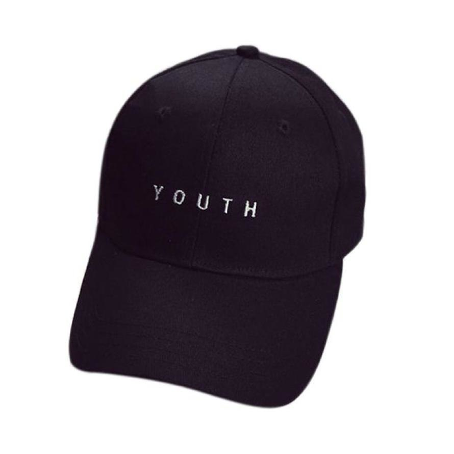 Unisex  Baseball Cap Letters Embroidery Hats Boys Girls Fashion Co Adjustable Strap Hip Hop Caps Sombreros #9