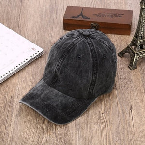 Unisex Baseball Caps Good Quality Adjustable Causal Hats Grey Casquette Bone Cap Gorras Hot Sale