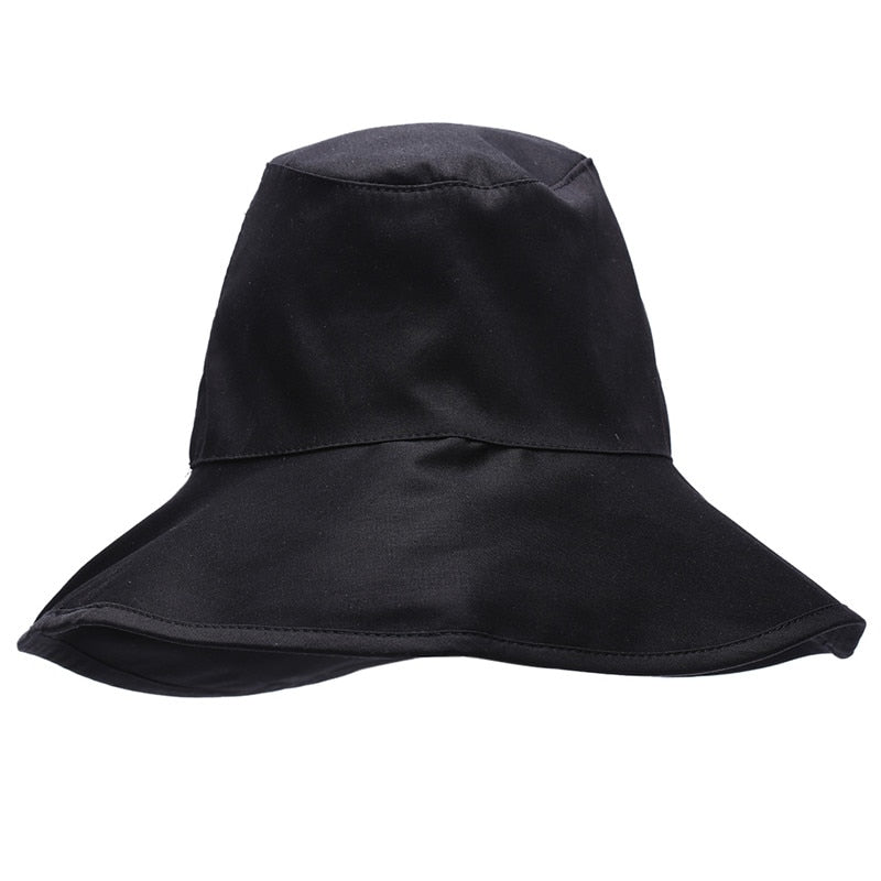 bc67ec19 ... Load image into Gallery viewer, Unisex Flat Cot Bucket Hat For Men  Women Travel Sun ...