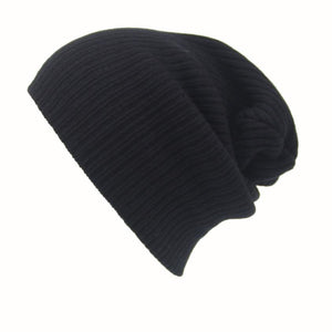Unisex Knitted Winter Hats Women Men Cap Casual Baggy Beanies Solid Color Skullies Bonnet Gorro Amazing Aug 15