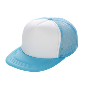 Unisex Mesh Baseball Cap Hat Blank Visor Hat Adjustable