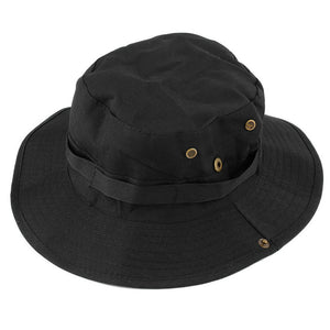 fbc66ca6c3e Unisex Outdoor Hunting Fishing Bucket Hat Boonie Wide Cap Brim Military Men  Women Perfect Fashion Caps