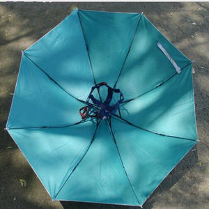 Unisex Umbrella Hat Fishing Hunting Large Umbrella Sun Protection Paras UV  Proof Bumber Paraguas Outdoors Rain 83ad7625bca