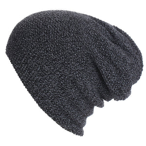 Unisex Winter Knitted Beanies Cap Solid Color Hat Warm Soft Beanie Skull Knit Hats Caps for Men Women Gorras Para Hombre