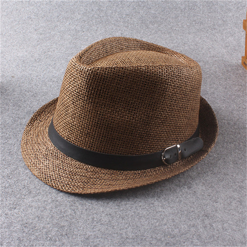 0fdc276c80d Unisex Women Men Casual Fashion Hat Mens Summer Style Adult Sun Hat Beach  Vocation Sunhat Fedora Hat Straw Panama Cap WS527