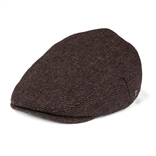 90675e20698 Woollen Blend Tweed Twill Flat Cap Mens Retro Newsboy Vintage Hat Fall  Winter Autu Ivy Caps