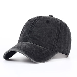 Plain dyed sand washed 100% soft cot cap blank baseball caps dad hat no embroidery mens cap hat for men and women