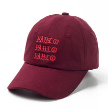 Load image into Gallery viewer, new I Feel Like Pablo Red Hat Dad Baseball Cap Kanye Pablo embroidery dad hat  men women Snapback Cap hats