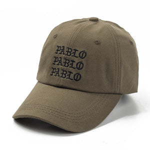 new I Feel Like Pablo Red Hat Dad Baseball Cap Kanye Pablo embroidery dad hat  men women Snapback Cap hats