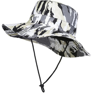 Men Women Fishing Hat Floppy Bucket Hat Outdoor Fishing Cap Sun Protection  Cap with Camouflage Pattern 689527cefd4