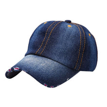 Load image into Gallery viewer, Vintage Men Women Sport Hat Casual Denim Baseball Ball Cap Sun Unisex Plain Hats