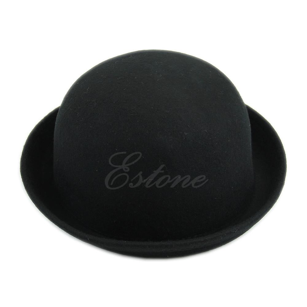 Vintage Vogue Ladies Women Men Unisex Vintage Wo Bowler Derby Hat Cap